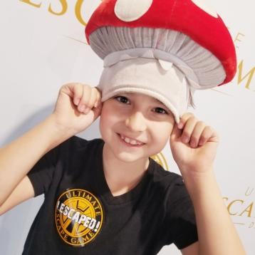 Mushroom head?