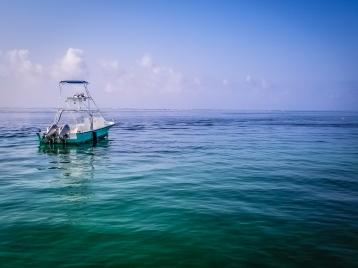 Waters of Puerto Morelos