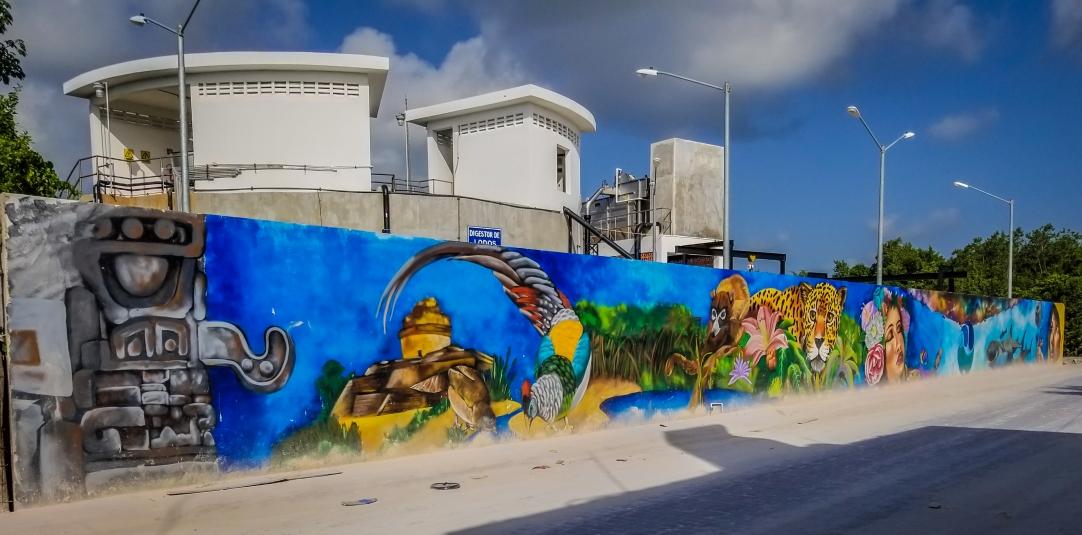 Locals adding Murals around PM