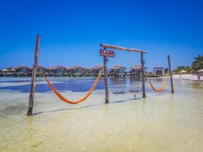 Hammocks & Swings over the Water